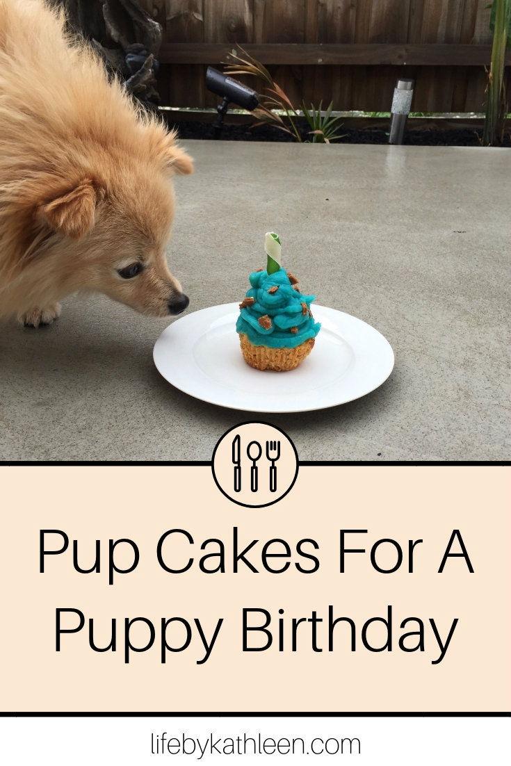 Pup Cakes For A Puppy Birthday