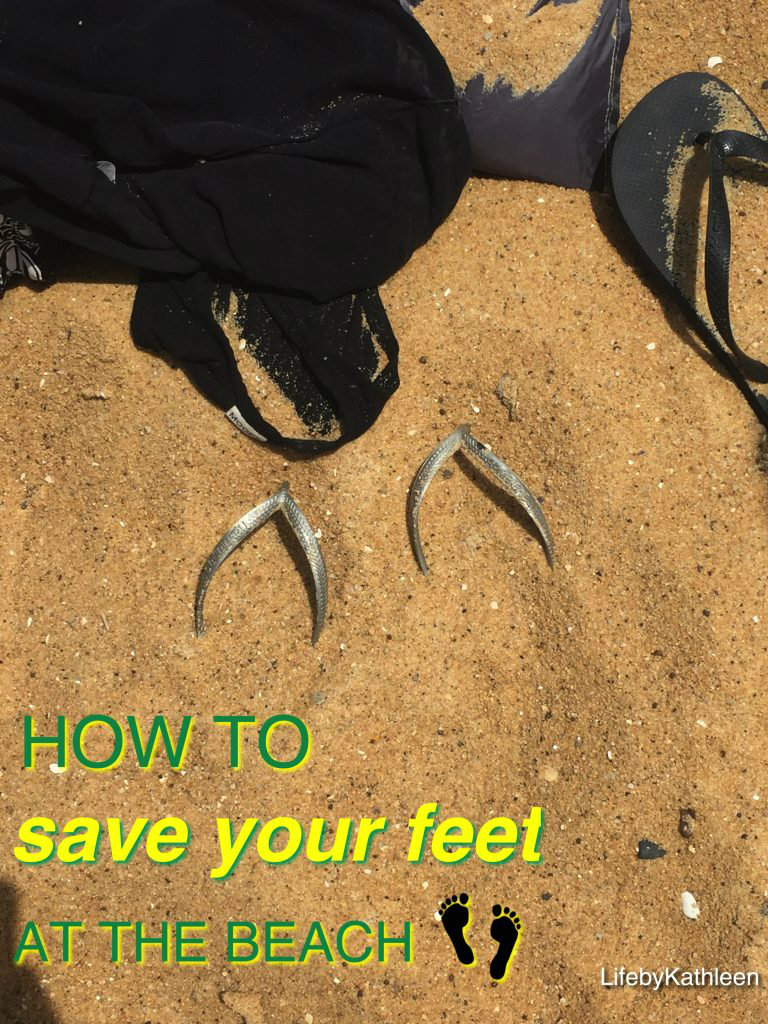 How To Save Your Feet At The Beach