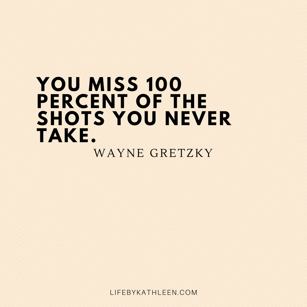 You miss 100 percent of the shots you never take - Wayne Gretzky #waynegretzky #waynegretzkyquotes #quotes #rookiecard #hockey #icehockey #icehockeyquotes