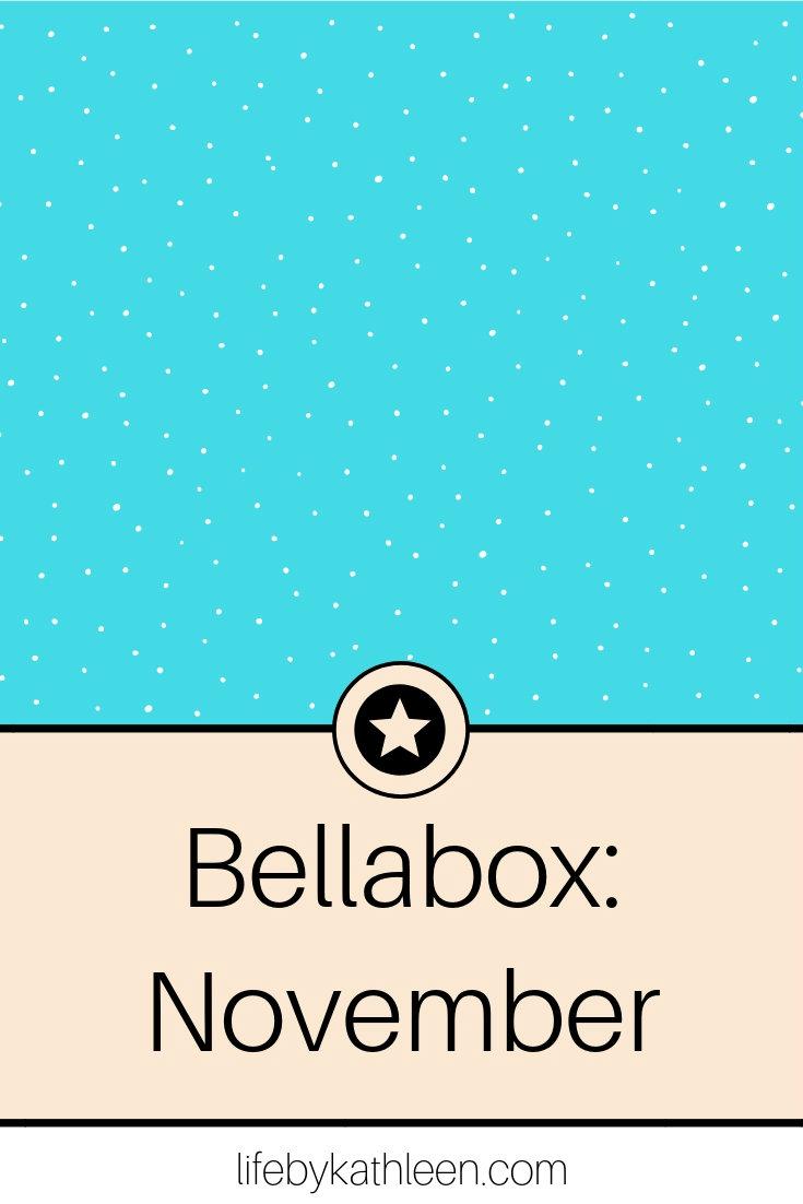 BellaBox November