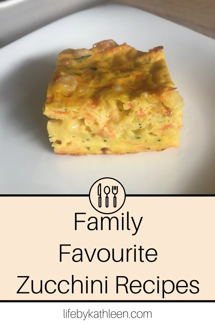 Family Favourite Zucchini Recipes
