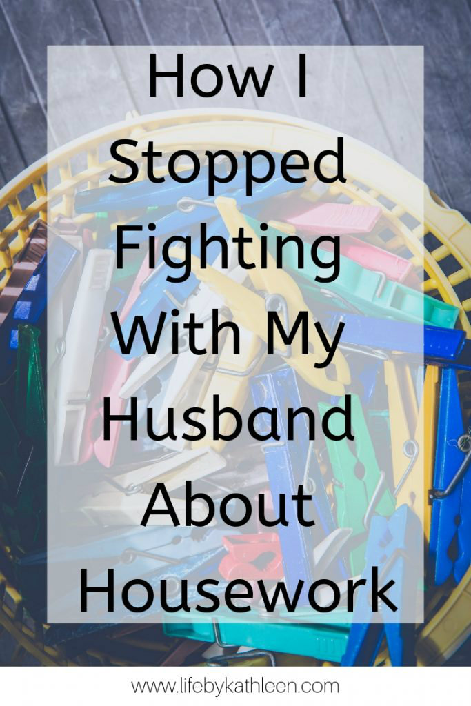 How I Stopped Fighting With My Husband About Housework