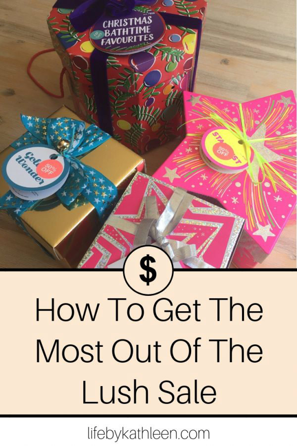 How To Get The Most Out Of The Lush Sale