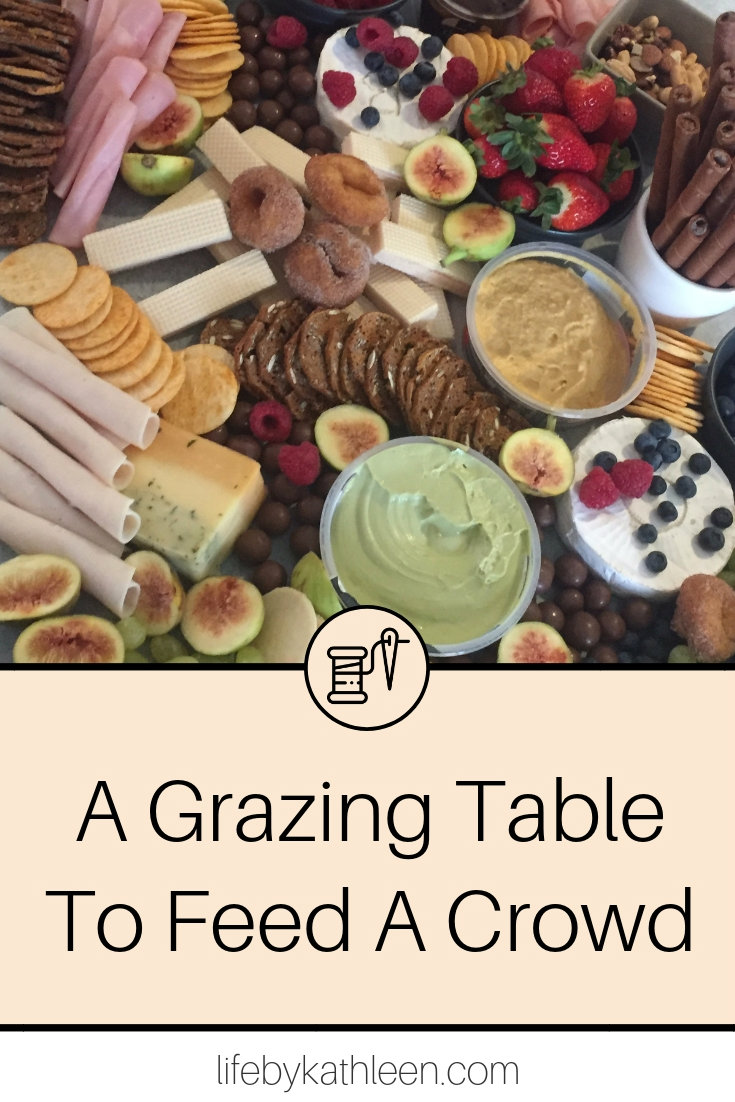 A Grazing Table To Feed A Crowd