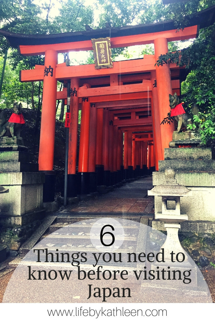 6 things you need to know before visint Japan