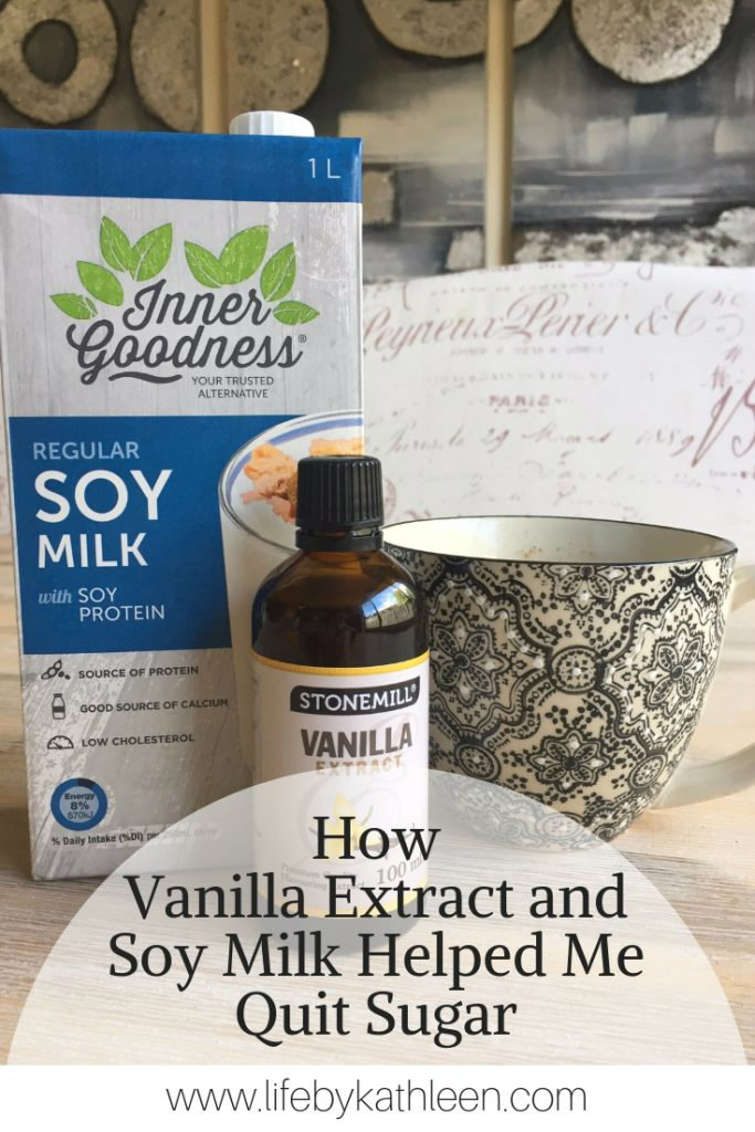 how vanilla extract and soy milk helped me quit sugar