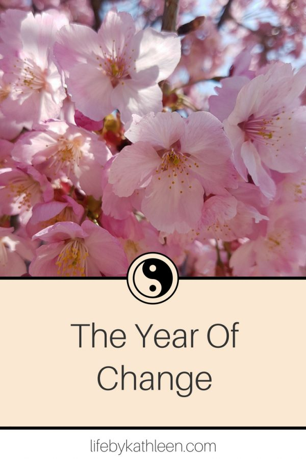 The Year Of Change