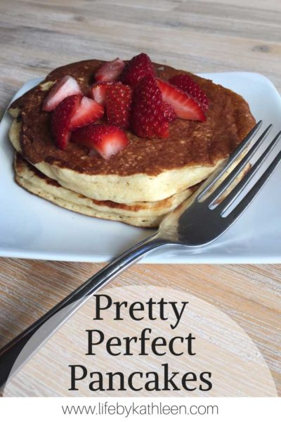 Pretty perfect pancakes