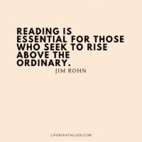 Reading is essential for those who seek to rise above the ordinary - Jim Rohn