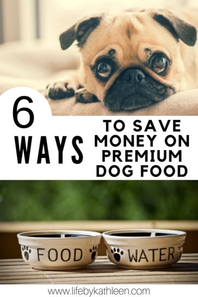 6 Ways to save money on premium dog food