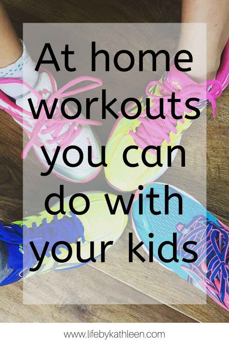 At home workouts you can do with your kids