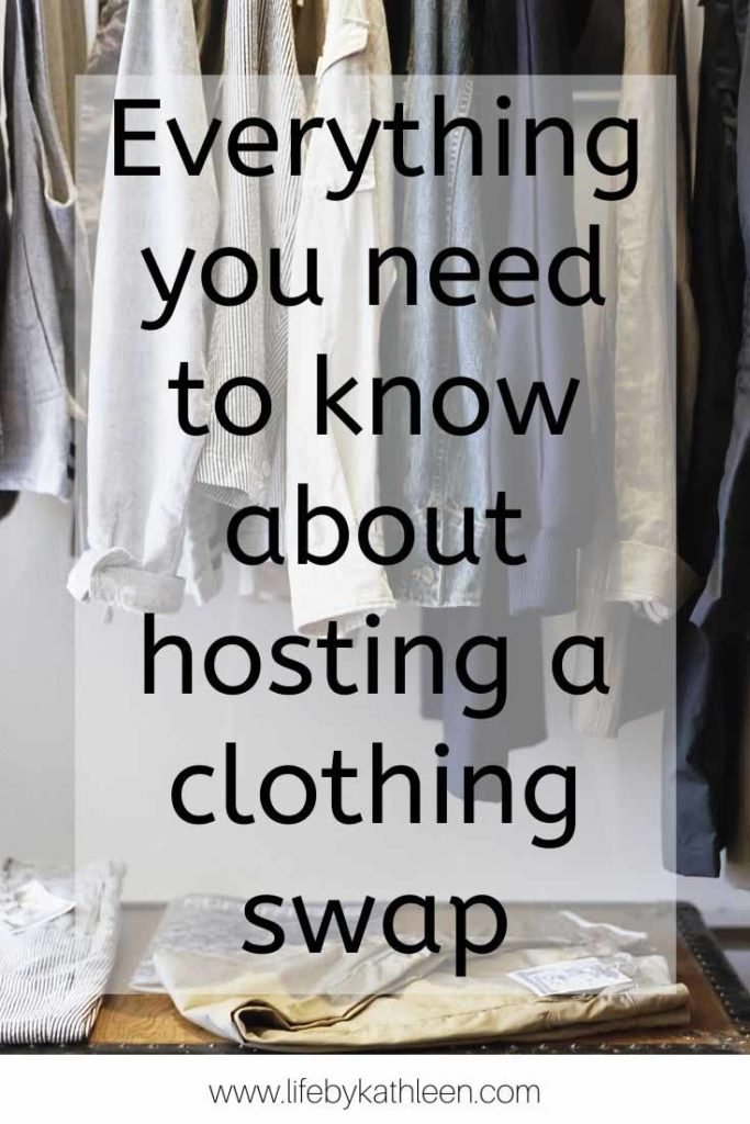 Everything you need to know about hosting a clothing swap