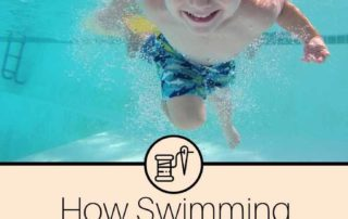 how swimming lessons helped me to create a laundry routine