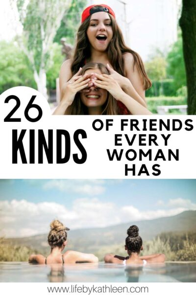 26 kinds of friends every woman has