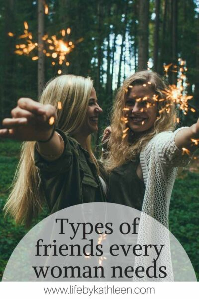 Types of friends every woman needs