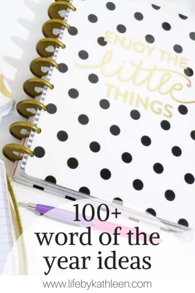 100+ word of the year ideas