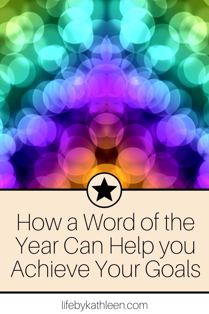 How a Word of the Year Can Help you Achieve Your Goals