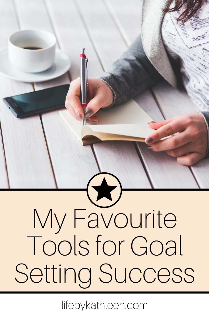 my favourite tools for goal setting success