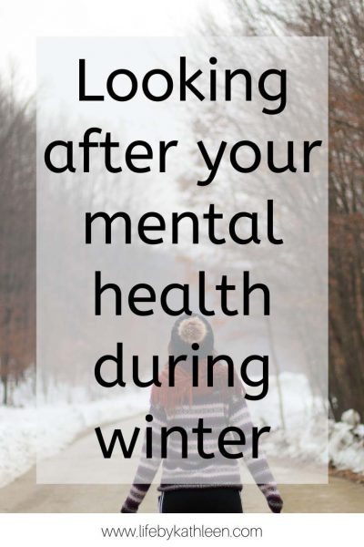 looking after your mental health during winter