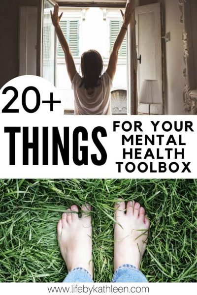 20+ things for your mental health toolbox
