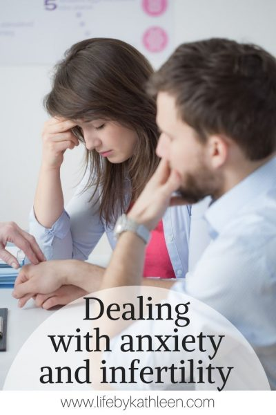 Dealing with anxiety and infertility