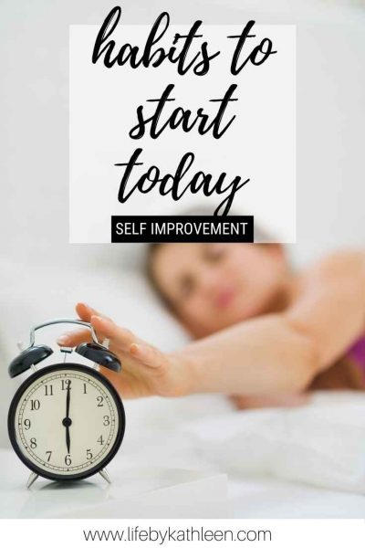 habits to start today